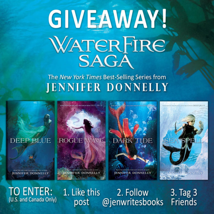 Waterfire Saga Giveaway on Instagram!