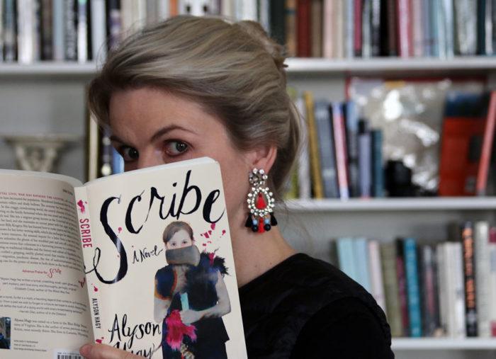 My Bookshelf: SCRIBE by Alyson Hagy