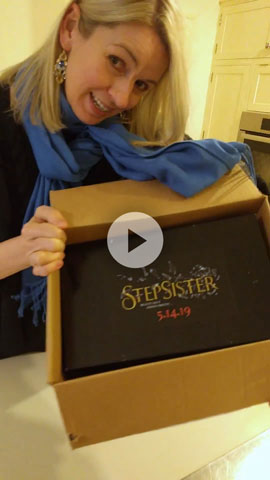 Unboxing Advance Reader Copy of Stepsister!